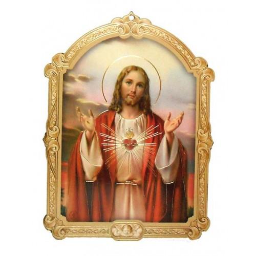 Icoana Inima lui Isus 14x11 cm