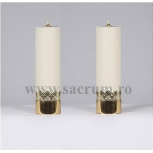 Lumanari altar albe