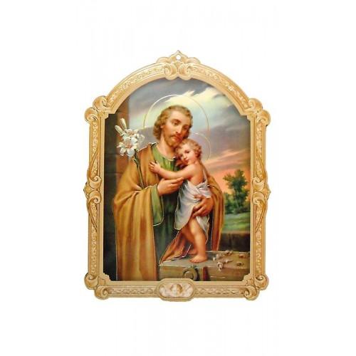 Icoana Sf. Iosif 14x11 cm
