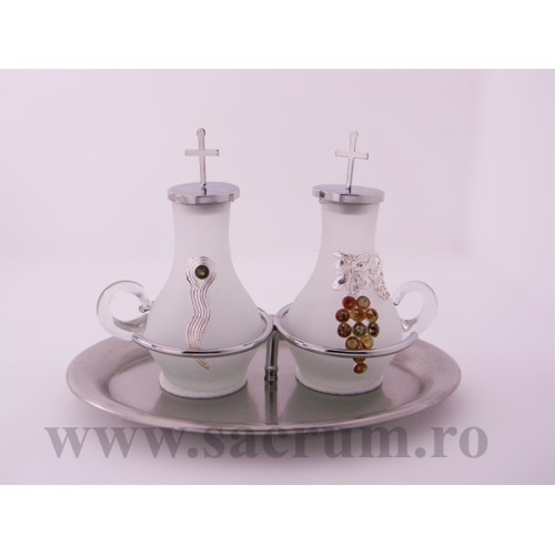 Paharute Liturgice cu tavita nichelata